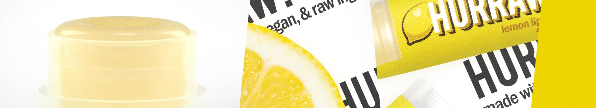 Hurraw balzám na rty citron